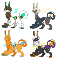 Louxe Batch 2. Auction [CLOSED] by KeyboardMjolk