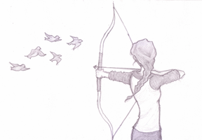 Katniss by SomeoneToRelyOn