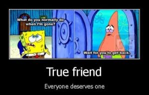 Spongebob Patrick Star - True Friend by fernz232