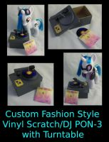 Custom Fashion Style DJ PON-3/Vinyl Scratch Set by Gryphyn-Bloodheart