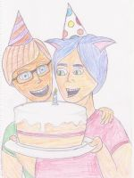 It's OUR Birthday by SalmirAeon