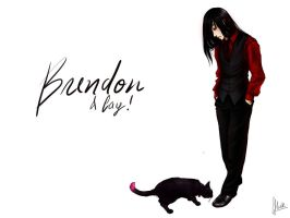 Brendon+Cay-wallpaper of sorts by monsternist