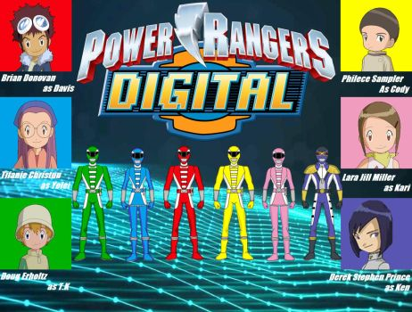 Power Rangers Digital by Dakari-King-Mykan