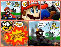 Random Mario Kart Comic by SuperLakitu