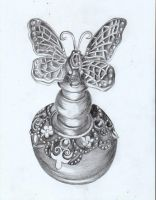 An Old Perfume Bottle by Moondancer3