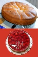 Cake with Strawberries by jolabrodnica