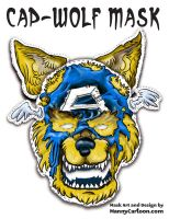 Downloadable Cap Wolf Mask by mannycartoon