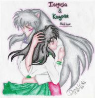 Inuyasha and Kagome by NaniIKGL