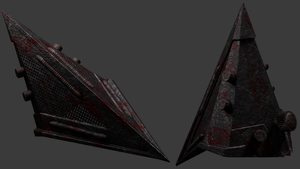 Pyramid Head Helmet by telimonster