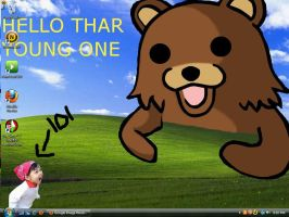 lol my desktop by Lord-Naruto