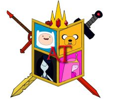 Adventure Time Crest by ParagonFlynn