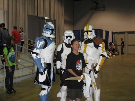 Clone Squad - Comic-Con Chicago 2012 by ShadowRoadz