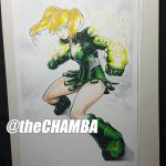 Pre-Con commission - Aguja by theCHAMBA