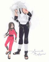 Father and Daughter by Raiha