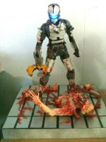 Dead Space scratch-made model for sale by johnstewartart