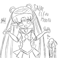 Sailor Elfin Moon by SailorBomber