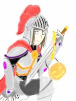 Neji the Halloween Knight by SakuraDreamerz2