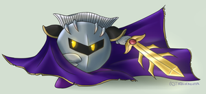 Kirby: Meta Knight by thebluerooster