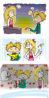 HA ! : H x A date doodles by FnFiNdOART
