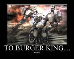 burger king away by Armored4core