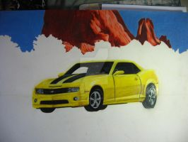My Dream Camero unfinished by RachaelSelk
