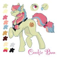 cookie bun oc ref by Dertaii