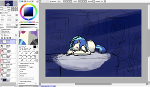 After work - WIP 2 - Composition by HardCyder