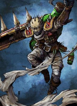 Singed Fanart Color by anireal