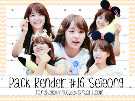 Pack Render#16 SEJEONG by fanyhellovenus