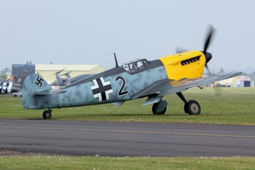 Hispano HA-1112 M1L Buchon by Daniel-Wales-Images