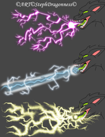 Practice Work: Electric Breath 2 by StephDragonness