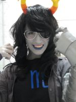 Vriska - Grins and Duct Tape by CardboardSwords