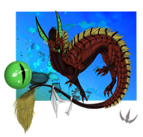 Cezin Request by Galidor-Dragon
