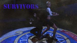 Survivors WALLPAPER 1 Sherry and Heather by Lyssa-Nivans
