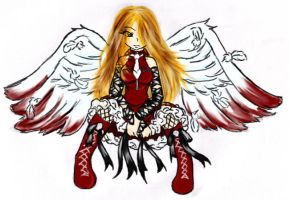 Scarlet Angel by Sylvre