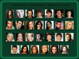 Vampire Academy Dream Cast by angiezinha