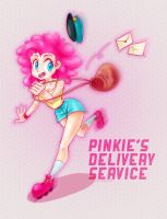 Pinkie's Delivery Service by donttouchmommy