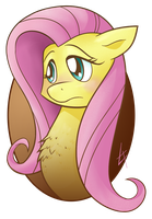 Fluttershy Portrait by theinkBot