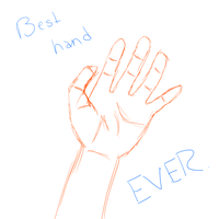 The best hand ever. by CutiePie32510