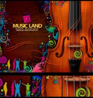 Music Land by Mojtaba-Sharif