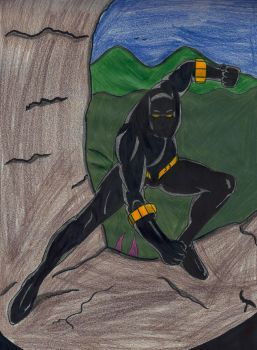 Black Panther by ElvisPresleyFan3577