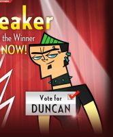 i voted for DUNCAN by AmandaSimmons95