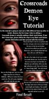 Crossroads Demon Tutorial by JoeleneyBeaney