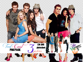 TVDcast PNG pack by upsidedownalice