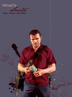 Father, Producer, Bank Robber by BeardedCoconut