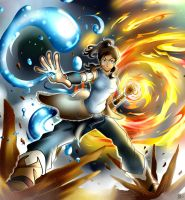 Korra: I'm the Avatar, Deal with it by Smudgeandfrank