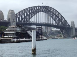 Sydney Harbour Bridge by Jessawary