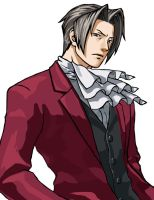 Miles Edgeworth by Altario