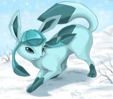 Trade: Glaceon by DragginCat