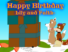 Lily and Faith Bday Gift by Tails230